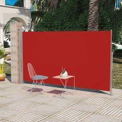 Markiza boczna na taras, 180 x 300 cm, czerwona