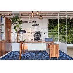 Nowoczesne biurko z pomocnikiem EVOLUTIO A609 160 cm