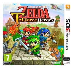 The Legend of Zelda: Tri Force Heroes - Nintendo 3DS - RPG
