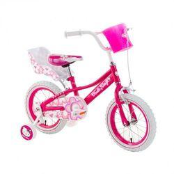 Rower dziecięcy różowy HELLO KITTY Shinny 14