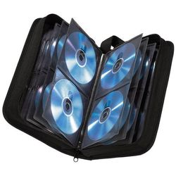 CD-WALLET 104 CD nylon czarny