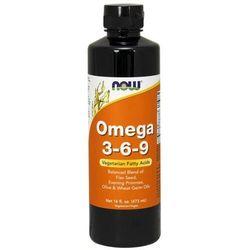 NOW Foods Omega 3-6-9 w płynie 473 ml