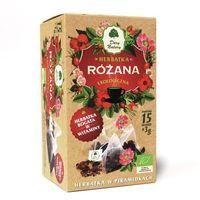 Herbaty ziołowe, Dary Natury Różana herbatka ekologiczna bogata w witaminy 100% EKO 15x3g