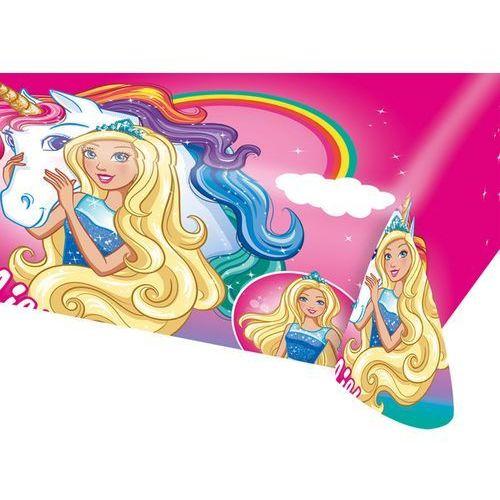 Obrusy, Obrus urodzinowy Barbie - 120x180 cm - 1 szt.