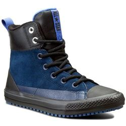 Trampki CONVERSE - Ctas Asphalt Boot Hi 654313C Navy/Oxygen Blue/Black