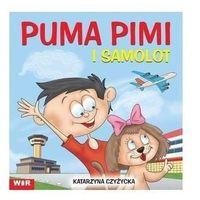 Książki dla dzieci, Puma Pimi i samolot cz. 5 sylaby ze spółgł. S, Z (opr. broszurowa)