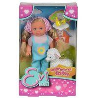 Pozostałe zabawki, Simba EVI Farmerka z owieczką2 rodzaje