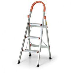 Aluminiowe schodki składane, 3 stopnie