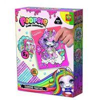 Kreatywne dla dzieci, Kreatywna zabawa - Wyklejanie diamencikami Poopsie