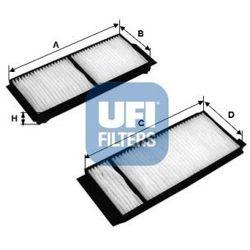 Filtr, wentylacja przestrzeni pasażerskiej UFI 53.120.00
