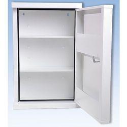 Szafka opatrunkowa wg DIN 13169, jednodrzwiowa, biała, wys. x szer. x gł. 560x36