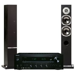 Zestaw stereo ONKYO TX-8250B + QUADRAL Rhodium 500 Czarny