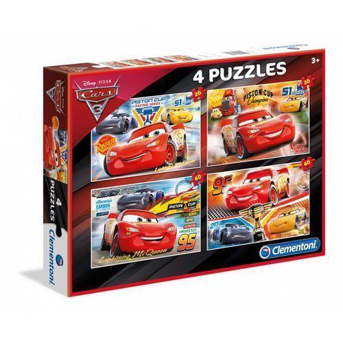 Puzzle, Puzzle 2x20 + 2x60 el. Auta 3