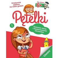 Książki dla dzieci, Pętelki. Szukanie różnic i dopasowywanie elementów (opr. broszurowa)