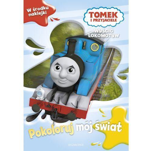 Książki dla dzieci, Tomek i przyjaciele. Wyścig lokomotyw - Praca zbiorowa (opr. broszurowa)