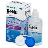 Płyny pielęgnacyjne do soczewek, Płyn ReNu MPS Sensitive Eyes Flight pack 100 ml