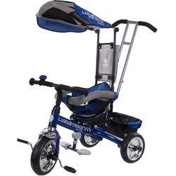 Trójkołowiec Luxus Trike niebieski Sun Baby XG18819G/N