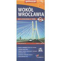 Mapy i atlasy turystyczne, Mapa turystyczna - Wokół Wrocławia 1:50 000 - Praca zbiorowa (opr. broszurowa)