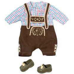 ZAPF CREATION Baby born® - Ludowa strój bawarski/austriacki dla lalki chłopca