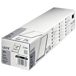 Grzbiet wsuwany LEITZ 6mm - czarne 21781