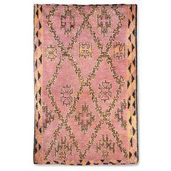 HKliving Ręcznie tkany wełniany dywan berberyjski terra/pomarańczowy (180x280) TTK3042