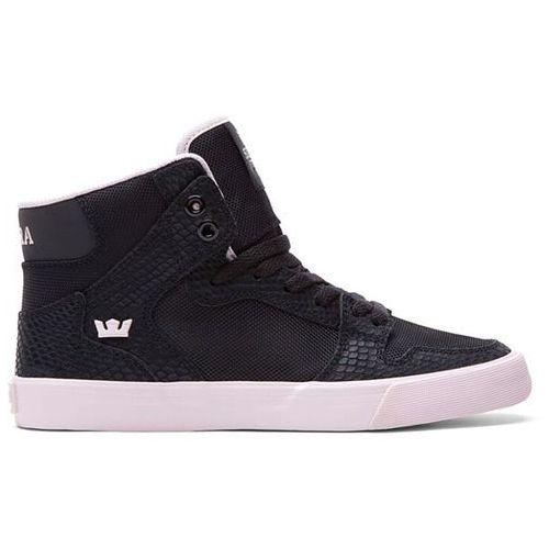 Damskie obuwie sportowe, buty SUPRA - Vaider Hig Black/Pink-White (BPN)
