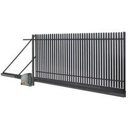 Brama przesuwna automatyczna Polbram Steel Group Daria 2 4 x 1 5 m prawa