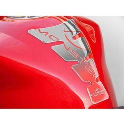 Tankpad PUIG Spirit, wzór Ducati Monster (srebrny)