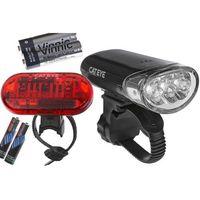 Oświetlenie rowerowe, CATEYE Zestaw lamp HL-EL135N / TL-LD135