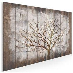 Rustykalny spokój - nowoczesny obraz na płótnie - 120x80 cm