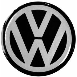Emblematy 56 mm na felgi do VW (zamienniki)