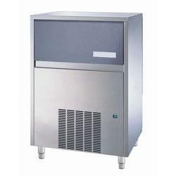 Kostkarka do lodu typu half cube 105 kg/24 h, pojemność zasobnika 35 kg, chłodzona powietrzem, 0,85 kW, 738x600x980 mm   NTF, CVC 230 A