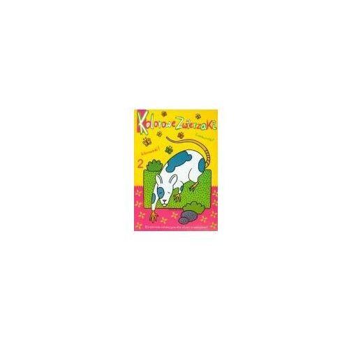 Książki dla dzieci, Kolorowe zwierzaki 2 (opr. miękka)