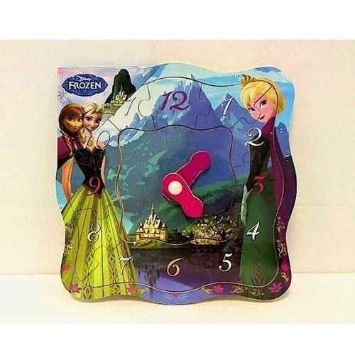 Zabawki z drewna, Zegar drewniany Frozen