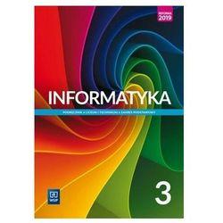 Informatyka 3. liceum i technikum. podręcznik. zakres podstawowy. szkoły ponadpodstawowe (opr. miękka)