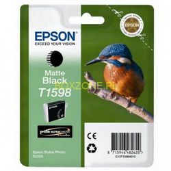 Epson oryginalny ink C13T15984010, matte black, 17ml, Epson Stylus Photo R2000