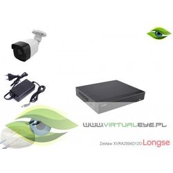 Zestaw do monitoringu AHD 1080P Longse XVRALBM24HTC200F12