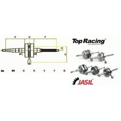 Wał Korbowy TOP RACING STANDARD Yamaha Dt 50 LC WAJ6030035