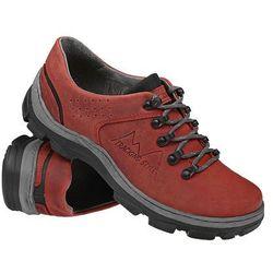 Półbuty buty trekkingowe KORNECKI 1392 Czerwone - Czerwony
