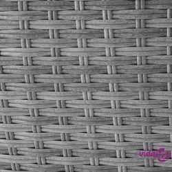 Kosz plażowy szary - ogrodowy - rattanowy - leżanka - SYLT LUX Darmowa wysyłka i zwroty