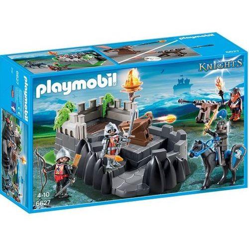 Klocki dla dzieci, Playmobil KNIGHTS Twierdza rycerska 6627