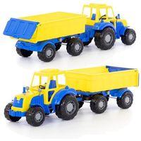Jeżdżące dla dzieci, Altaj traktor z przyczepą, siatka