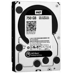 Dysk HDD WD Caviar Black 750GB 64MB (recertyfikowany)