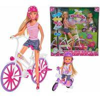 Lalki dla dzieci, STEFFI Przejażdżka na rowerze - Simba Toys