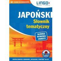 Słowniki, encyklopedie, Japoński. Słownik tematyczny+ CD (opr. miękka)
