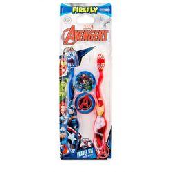 Marvel Avengers Toothbrush zestaw Szczoteczka do zębów 2 szt + Pudełko 2 szt dla dzieci