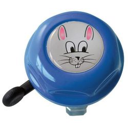 Dzwonek rowerowy dziecięcy zajączek Doming Label niebieski