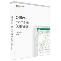 Microsoft Office Home & Business 2019 BOX WIN/MAC, Nowa licencja od Partnera MS