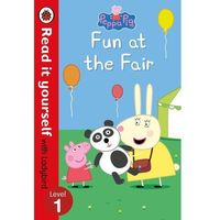 Książki do nauki języka, Peppa Pig: Fun at the Fair. Read it yourself with Ladybird - książka (opr. twarda)