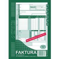 Druki akcydensowe, Faktura VAT Michalczyk&Prokop 124-3E - A5, uproszczona brutto (oryginał+kopia)